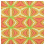 Groovy Orange Yellow Fabric
